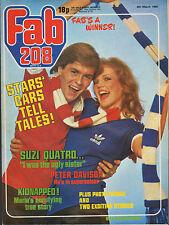 Fab 208 Magazine 8 March 1980   Peter Davison    Suzi Quatro