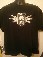 CALL OF DUTY ELITE MENS XL BLACK SHORT SLEEVE SHIRT