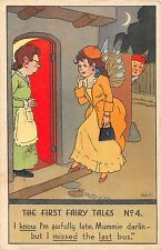 POSTCARD  COMIC     The First  Fairy  Tales  No  4