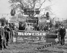 Photograph Vintage  Shriners Budweiser Barbecue Washington DC 1922  8x10
