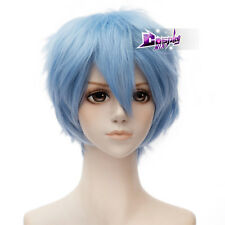 Akatsuki no Yona Shin-Ah Light Blue 12'' Short Anime Cosplay Wig Heat Resistant