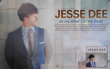 JESSE DEE, ON MY MIND IN MY HEART POSTER (O3)