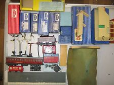 Hornby Dublo Job Lot of signals , switches, parts, empty boxes & spares repairs