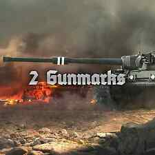 World of Tanks WOT 2 GUN MARKS OF EXCELLENCE EU/NA No Bonus Code UNICUM
