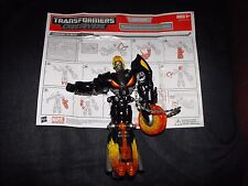 GHOST RIDER TRANSFORMERS CROSSOVERS MARVEL FIGURE WITH INSTRUCTIONS L@@K