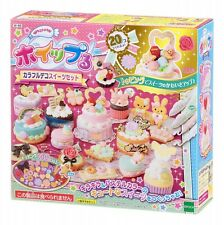 Epoch Japanese DIY Whipple Cream Toy Kit Mix Cream Party set Japan w-86