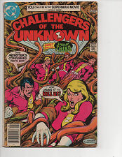 Challengers of the Unknown #82 (9/77) VG (4.0) Swamp Thing! Great Bronze Age!