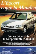 Publicité advertising 1995 Ford Escort