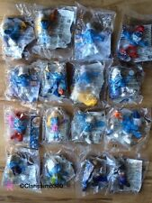 MCDONALDS COMPLETE SET OF 16 TOYS PEYO THE SMURFS 2 FILM/MOVIE 2013 BNIP RARE