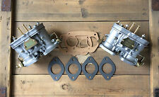 set of (2x) 44 IDF carb FAJS Weber twin carb VW bug beetle Porsche 356 912