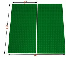 "4 Lego Compatible Baseplates 16x32 or 5""x10"" cover lego table as 2 10x10 plates"