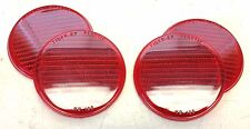 FORD GPW SCRIPT AND WILLYS MB SLAT GRILL  4 TIGER-EY PLASTIC REFLECTOR LENS