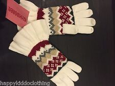 GIRLS GYMBOREE WINTER PENGUIN CHALET GLOVES SIZE 3-4 NWT NEW