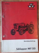 Massey Ferguson tracteurs MF 130 notice d'instructions