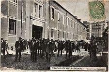 CPA Paris 13e Paris-Chocolaterie Lombart-Sortie des Hommes (311316)