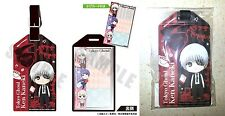 Tokyo Ghoul Carry-s Luggage Tag Pass Case Ken Kaneki B Cafe Reo Pierrot Licensed