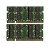 NEW 4GB (2x2GB) Memory PC2-5300 SODIMM For HP - Compaq Presario CQ60-615DX