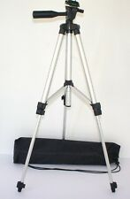 "50"" Aluminium Tripod With Case for Panasonic Lumix DMC-LF1 DMC-TS5 DMC-TS4"