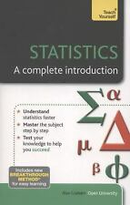 Statistics - A Complete Introduction (Teach Yourself: Math & Science), Graham, A