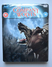 The Company of Wolves Steelbook Bluray + DVD UK Edition Region B New and Sealed