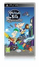 Phineas and Ferb - Across the 2nd Dimension (PSP) BRAND NEW SEALED