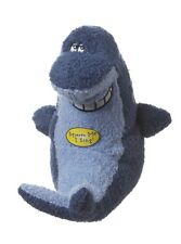 Multipet Deedle Dude Singing Shark Plush Dog Toy  Free Shipping New With Tag
