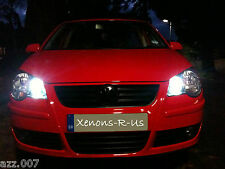 Volkswagen Polo 9N, 9N3 GTI MK7 L.E.D / LED Sidelight Bulbs COOL WHITE CANBUS
