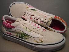 VANS New Old Skool Hawaiian Floral Vault Lady size 7