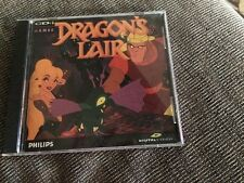 DRAGONS LAIR PHILLIPS CDi GAME COMPLETE WITH CASE