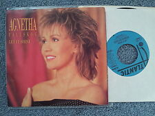 Agnetha Fältskog (ABBA) - Let it shine 7'' Single US PROMO MIT COVER!!