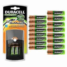 Duracell® Go Mobile Battery Charger with 10 AA Batteries & 10 AAA Batteries