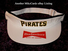 """PITTSBURGH PIRATES """"Budweiser"""" Sun Visor Cap - One Size Fits All !"""