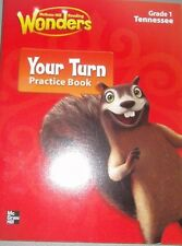 McGraw Hill Reading Wonders Grade 1 Your Turn Practice Book - Tennessee Ed. 4347