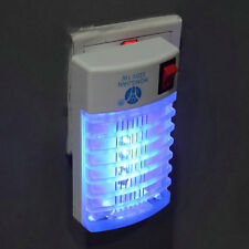 LED Socket Electric Mosquito Fly Bug Insect Trap Night Lamp Killer Zapper FE
