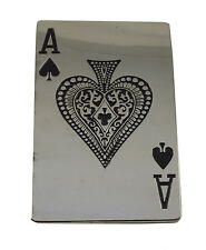 Retro Belt Buckle- Ace of Spades