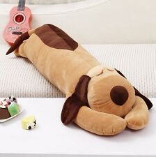 Stuffed Dog Long Pillow / Cushion / Body Sleeping Pillow / 90cm