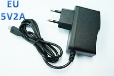 For Raspberry Pi 5V 2A Micro USB to EU Power Supply adapter Charger