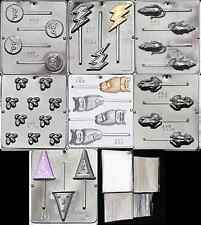 Harry Potter Chocolate Mold Kit - Includes 7 Molds 100 Bags 100 Sticks 100 Ties