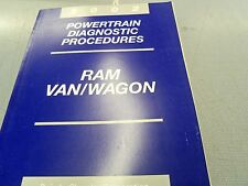 2002  Ram Van Wagon Powertrain Diagnostic Procedures Dealer Manual FREE Shipping