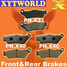 FRONT REAR Brake Pads for KTM 990 Adventure Dakar Edition (ABS Model) 2011