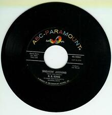 B B KING SINGLE CHAINS OF LOVE / SNEAKIN' AROUND US ABC 45-10724