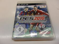 PlayStation 3 PS 3 pes 2010-Pro Evolution Soccer
