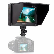 Viltrox 7'' Clip-on HD TFT HDMI AV LCD Video Monitor fr Canon Nikon Olympus DSLR