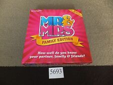 Mr and Mrs - Up to Date New Family Edition VGC & Complete FREE UK POST