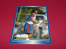 LAURENT DELAMONTAGNE OLYMPIQUE LYON OL GERLAND PANINI FOOTBALL CARD 1994-1995