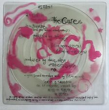 "THE CURE - Catch - Rare UK Clear Vinyl 7"" + Custom Printed PVC Sleeve (Vinyl)"