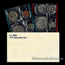 1977 P+D U S Mint Set Eisenhower Kennedy Washington Roosevelt Jefferson Lincoln