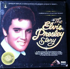 ELVIS PRESLEY The Elvis Presley Story 5LP BOX SET RCA 1977 ROCK Open