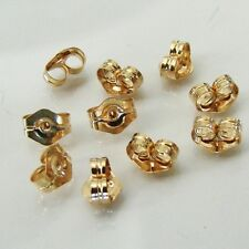 Ten - 14k Gold Filled Small Ear Nuts, Made in USA