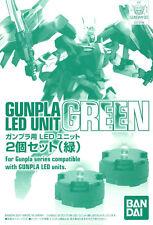 GUNPLA Led Unit Set Green Gundam BANDAI